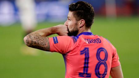 Chelsea mengizinkan 2 pemainnya pergi di bursa transfer Januari. Namun, alih-alih Olivier Giroud, pemain yang didepak adalah Antonio Rudiger dan Fikayo Tomori. - INDOSPORT
