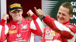Mick Schumacher dan Michael Schumacher.