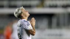 Indosport - Yeferson Soteldo saat memperkuat Santos.
