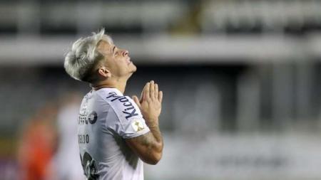Yeferson Soteldo saat memperkuat Santos. - INDOSPORT