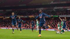 Indosport - Berikut hasil pertandingan Liga Europa Arsenal lawan Rapid Wien.