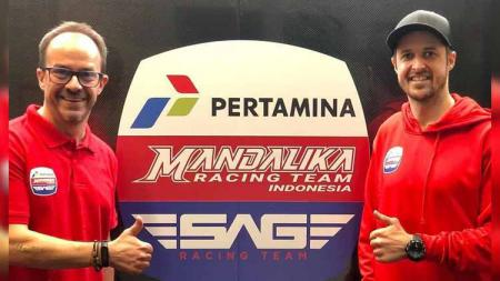 Mandalika Racing Team Indonesia (MRTI) dan SAG Racing Team resmi jalin kerja sama untuk turun di Moto2 - INDOSPORT