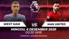 Indosport - West Ham vs Manchester United.