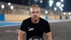 Indosport - Nikita Mazepin pembalap F2 asal Rusia.