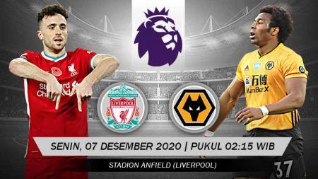 Prediksi Pertandingan Liverpool vs Wolverhampton Wanderers (Liga Inggris). - INDOSPORT