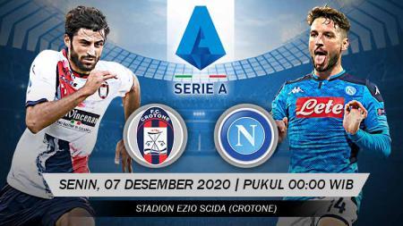 Pertandingan Crotone vs Napoli (Serie A). - INDOSPORT