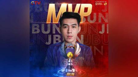 Gelaran Esports Star Indonesia (ESI) sudah tuntas pada Sabtu (05/12/20) malam. Jodie Bun alias JBun keluar sebagai Most Valuable Player atau MVP - INDOSPORT