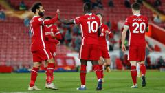 Indosport - Mohamed Salah, Sadio Mane, dan Diogo Jota