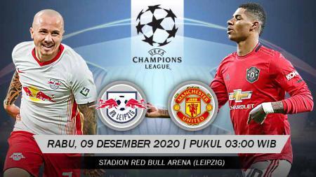 RB Leipzig akan meladeni Manchester United pada matchday terakhir Grup H Liga Champions 2020/2021 di Red Bull Arena, Rabu (09/12/20) dini hari WIB. - INDOSPORT