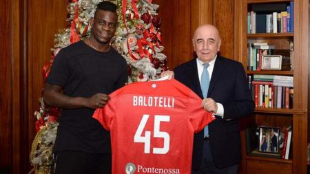 Mario Balotelli resmi bergabung ke AC Monza - INDOSPORT