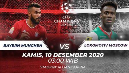 Bayern Munchen vs Lokomotiv Moscow. - INDOSPORT