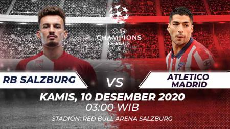RB Salzburg vs Atletico Madrid. - INDOSPORT