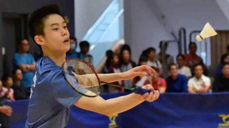 Tidak pilih bela tim bulutangkis Indonesia, bintang masa depan Hong Kong Jason Gunawan menginspirasi pebulutangkis Malaysia, Justin Hoh. - INDOSPORT