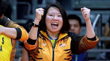 Usai kontraknya tidak diperpanjang oleh Asosiasi Bulutangkis Malaysia (BAM), pelatih berprestasi Malaysia Chin Eei Hui malah ketiban rezeki nomplok. - INDOSPORT