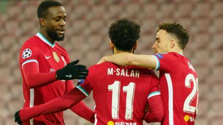 Top Skor Liga Inggris Hari Ini: Vardy Mandek, Mohamed Salah Aman di Puncak. - INDOSPORT
