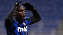 Ekspresi kekecewaan Romelu Lukaku di laga Inter Milan vs Shakhtar Donetsk