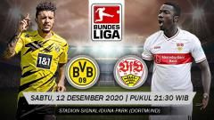 Indosport - Link Live Streaming Bundesliga Jerman: Borussia Dortmund vs VfB Stuttgart di Mola TV.