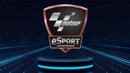 Logo MotoGP eSports. - INDOSPORT