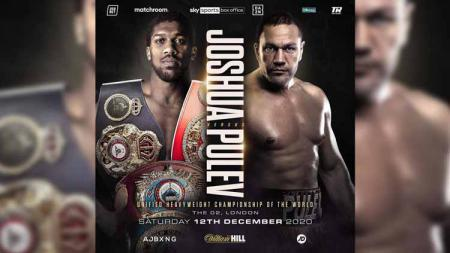 Anthony Joshua vs Kubrat Pulev. - INDOSPORT