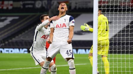 Link Live Streaming Liga Inggris: Tottenham Hotspur vs Leeds United. - INDOSPORT