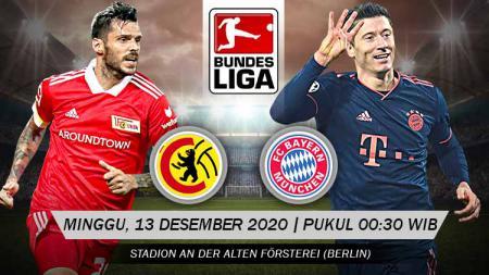 Link Live Streaming Bundesliga: Union Berlin vs Bayern Munchen - INDOSPORT