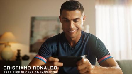 Cristiano Ronaldo jadi karakter baru game eSports Free Fire, Chrono. - INDOSPORT