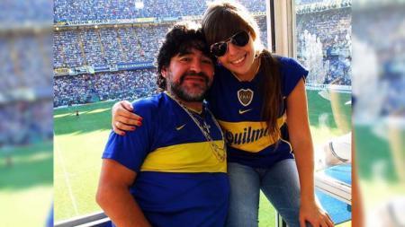 Dalma Maradona, putri sulung Diego Maradona - INDOSPORT