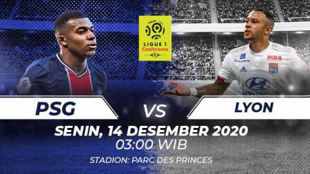 Psg vs Lyon. - INDOSPORT