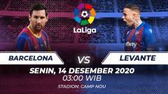 Indosport - Barcelona vs Levante.