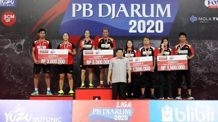 Liga PB Djarum 2020 berjalan sukses di GOR Djarum, Jati, Kudus, Jawa Tengah, 7-13 Desember 2020. - INDOSPORT