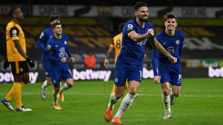Berikut tersaji rekap hasil pertandingan pekan ke-13 Liga Inggris 2020-2021, dimana Chelsea kalah lagi dan Manchester City hanya bermain imbang. - INDOSPORT