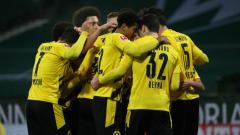 Indosport - Hasil Liga Jerman RB Leipzig vs Borussia Dortmund: Brace Haaland Bawa Tamu Menang