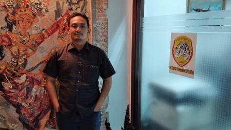 Owner klub Liga 3 asal Depok, Persipu FCF, Andrew Baskoro. - INDOSPORT