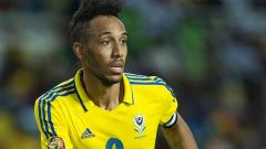 Indosport - Selain Arsenal, Pierre-Emerick Aubameyang juga dikenal sebagai pemain Timnas Gabon.