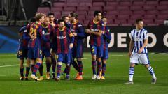 Indosport - Berikut klasemen LaLiga Spanyol hari ini, Kamis (17/12/2020) di mana pelan tapi pasti Barcelona menapaki langkah mereka menuju puncak klasemen.