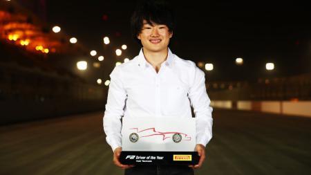 Yuki Tsunoda, pembalap AlphaTauri. - INDOSPORT