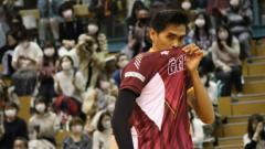 Indosport - Rivan Nurmulki, Pevoli Indonesia yang Bersinar di Liga Jepang