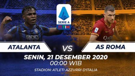 Atalanta vs As Roma. - INDOSPORT