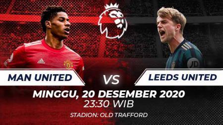 Manchester United akan menjamu Leeds United, Minggu (20/12/20) pukul 23:30 WIB di pekan keempat belas Liga Inggris. MU wajib menang untuk masuk ke empat besar. - INDOSPORT