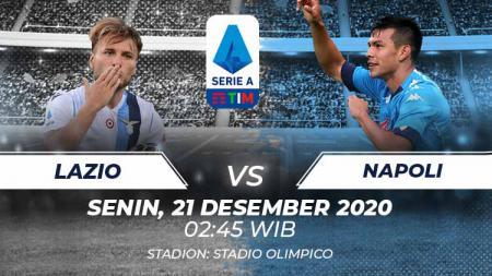 Link Live Streaming Pertandingan Serie A Italia: Lazio vs Napoli. - INDOSPORT