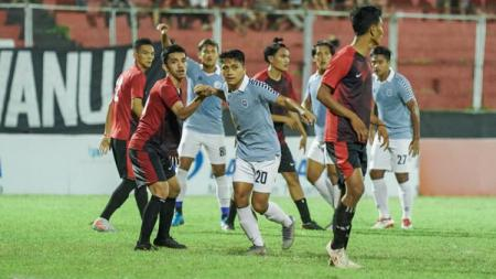 Pemain Sulut United, Natanael Siringoringo menuju klub kasta kedua Liga Malaysia, Kelantan FC. - INDOSPORT