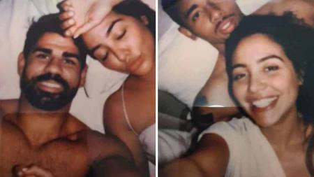 Foto intim Diego Costa dan Gabriel Jesus bareng wanita ditemukan dalam Alkitab. - INDOSPORT