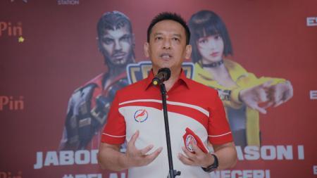 Ketua Harian Pengurus Besar (PB) Esport Indonesia, Bambang Sunarwibowo. - INDOSPORT