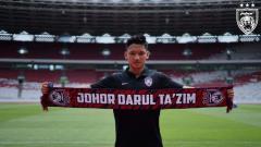 Indosport - Syahrian Abimanyu resmi ke Johor Darul Ta'zim.