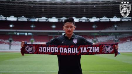 JDT Daftarkan Syahrian Abimanyu di Lanjutan Liga Super Malaysia 2021. - INDOSPORT