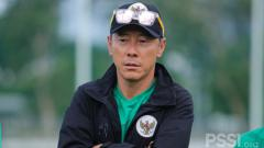 Indosport - Uji Coba Timnas Indonesia U-23 Batal, Shin Tae-yong: PSSI Targetkan Medali Emas SEA Games 2021.