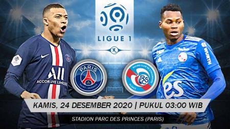Berikut prediksi untuk pertandingan pekan ke-17 Ligue 1 Prancis antara Paris Saint-Germain (PSG) vs Strasbourg, yang akan digelar Kamis (24/12/20) pukul 03.00 WIB. - INDOSPORT