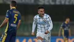 Indosport - Arsenal memburu Lautaro Martinez di bursa transfer musim panas. Berikut 3 pemain yang bisa dikorbankan The Gunners ke Inter Milan demi memboyong sang penyerang.