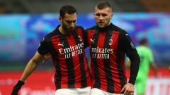 Indosport - AC Milan patut gigit jari Hakan Calhanoglu menawarkan diri untuk gabung Real Madrid pada bursa transfer lanjutan.