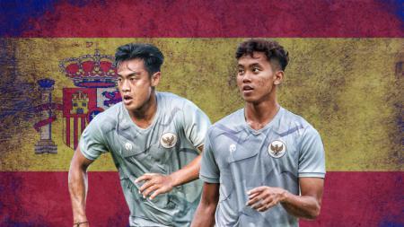 Dua pemain PSIS, Pratama Arhan dan Bahril Fahreza yang berkesempatan mengikuti TC Timnas U-19 di Spanyol. - INDOSPORT